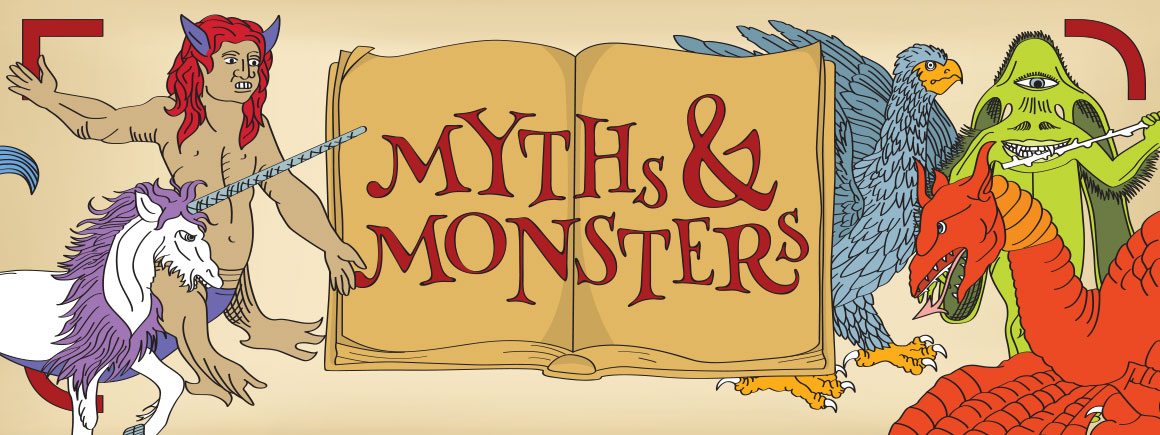 Myths and Monsters runs 8 May - 6 September 2015