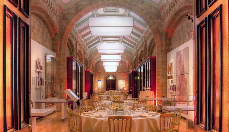 The Images Of Nature Gallery At Natural History Museum Ready For An Event