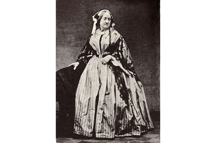 Photographic portrait of Anna Atkins