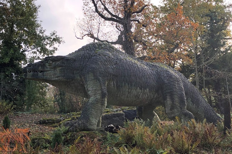 The World S First Dinosaur Park What The Victorians Got Right And Wrong Natural History Museum