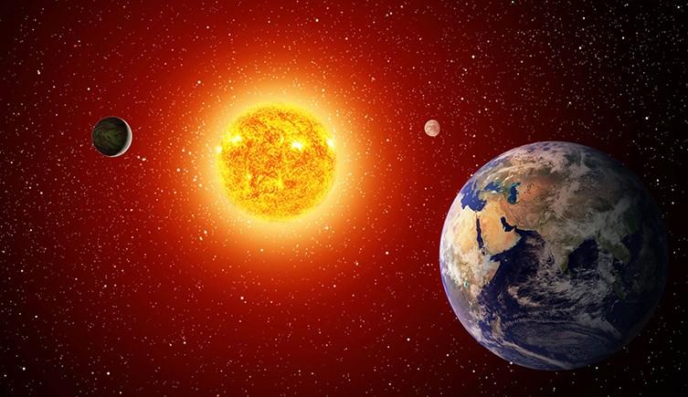 La Tierra está a la distancia perfecta del Sol para sustentar la vida.