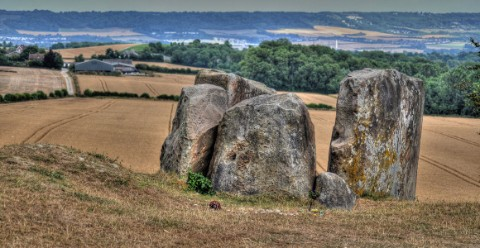 The Coldrum stones in Kent date back to the Neolithic period