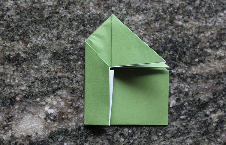 How to Make an Origami Frog Base - Snapguide | 485x753