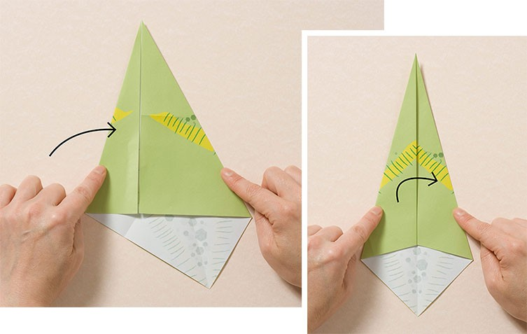 How to make a Dinosaur Origami? | 477x753