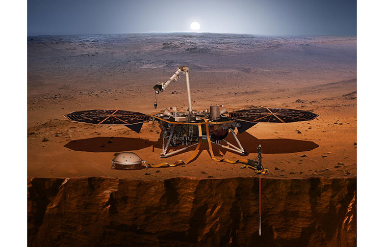 NASA InSight Kicks Off 6-Month Journey To Mars