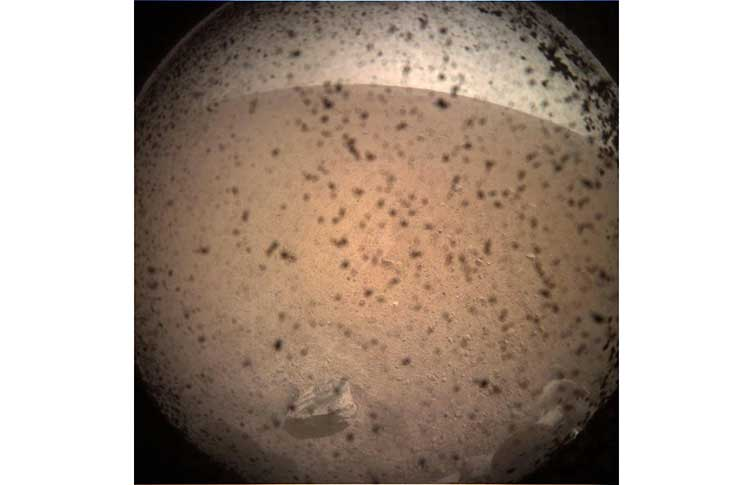 NASA InSight's first photo from the surface of Mars