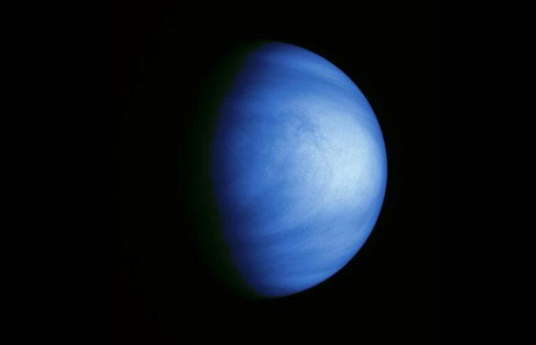 Venus coloreadas nubes