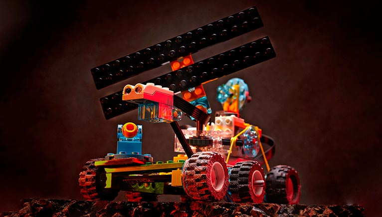 Mission to Mars: LEGO® Explorers Workshop for families   Natural History Museum