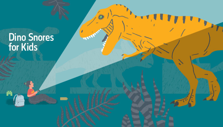 Wonderbaarlijk Dino Snores for Kids | Natural History Museum QH-97