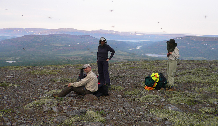 Fieldwork in Arctic Siberia