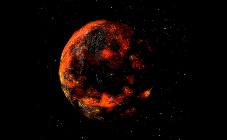 Evidence that asteroids delivered water to the Moon