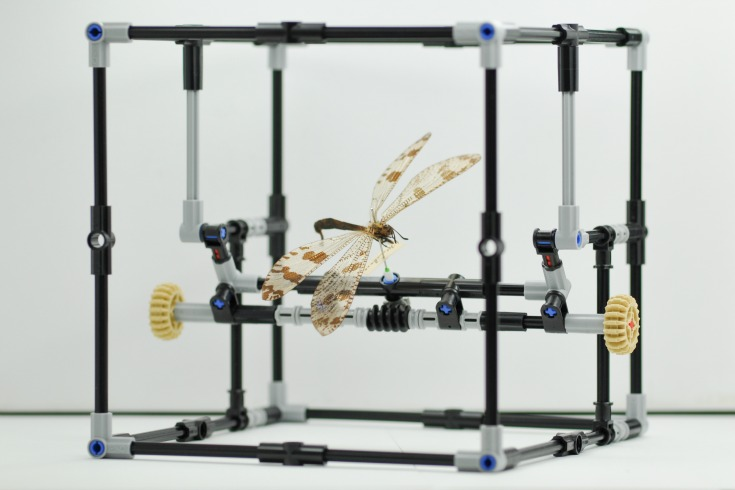 The IMp (pinned insect manipulator) made from Lego