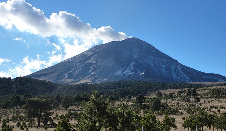 Popocatépetl Volcano Mexico Natural History Museum - Active volcanoes in mexico