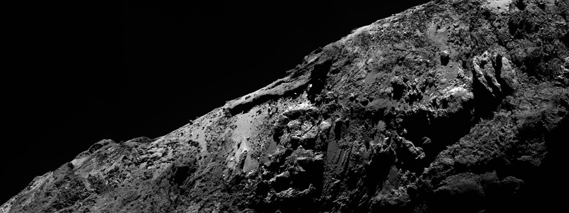 Comet viewed by Rosetta