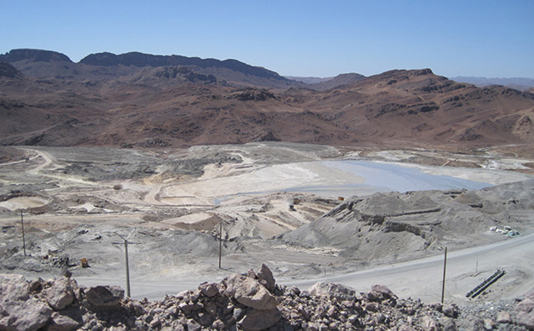The Bou Azzer mine in Morocco