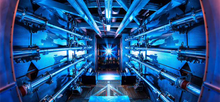 The National Ignition Facility in California