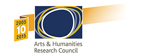 Arts and Humanities Research Council 10th anniversary logo