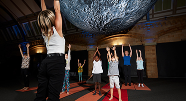 <h4>Family Yoga Classes under the Moon</h4>