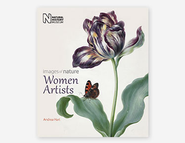 Book cover for Women Artists published by the Natural History Museum