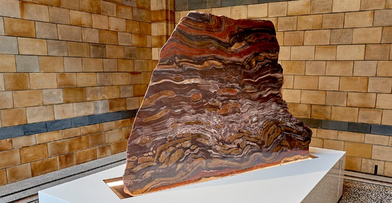 The Banded Iron formation Wonder Bay