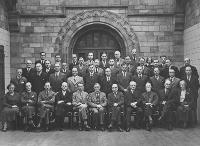The Geology Department 1938, with Dorothea Bate front right.