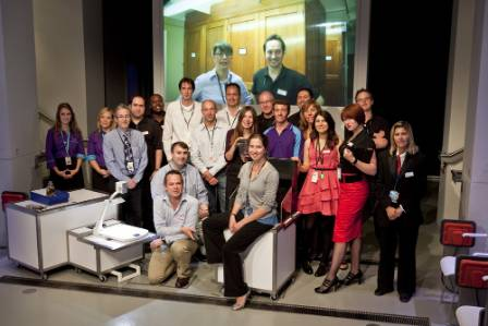 Attenborough studio launch team photo.JPG