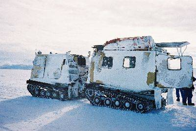 Travelling by hagglund on Frozen Sea Ice.jpg