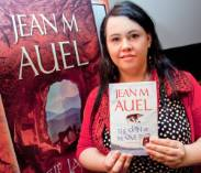 Jean-M-Auel-book-Launch-fan-book.jpg