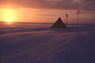 antarctic tent at sunset.JPG