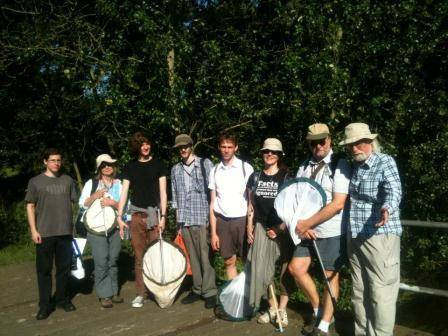NHM team led by Dick Vane Wright about to brave the wilds of Bingley Island.jpg