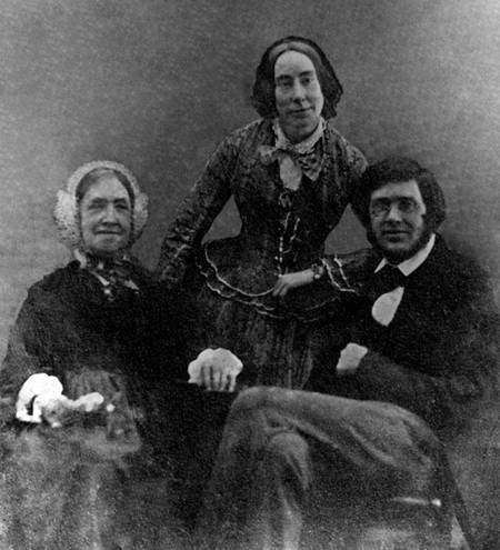 WMF041f_ARW, his sister and mother in c_ 1852 from print owned by Wallace Family_EDITED.jpg