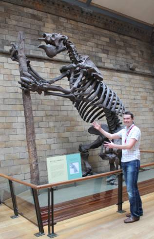 James and Megatherium.jpg