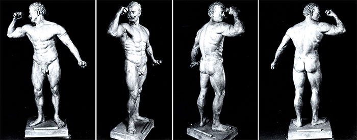 The Eugen Sandow model, briefly reassembled and photographed in 1981.: www.nhm.ac.uk/natureplus/blogs/behind-the-scenes/tags/homo_sapiens