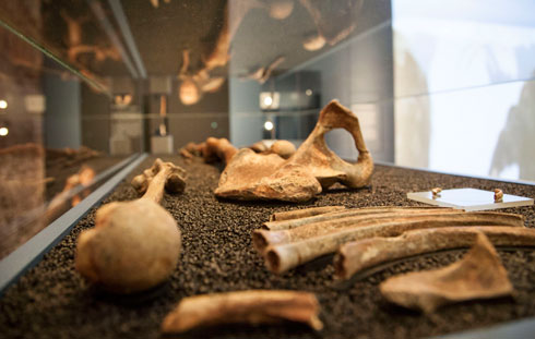 Oldest known burial ground in Britain