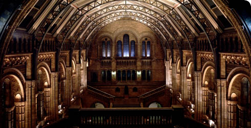 View of the Hintze Hall, formerly the Central Hall
