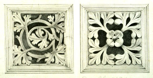 Waterhouse's designs for floor vents.