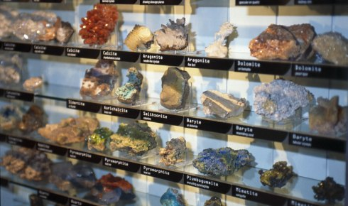 British minerals in the Earth Lab