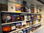 Discover lots of great books at the Earth Shop