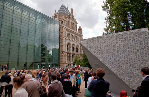 Tsunami Memorial in the Darwin Centre Courtyard