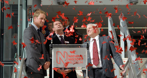 Royal speech at Darwin Centre opening