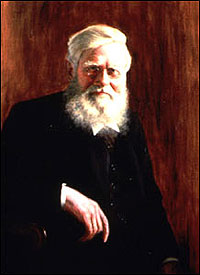 Alfred Russel Wallace (1823-1913).