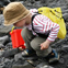 Looking for fossils on a beach (image copyright: Lyme Regis Fossil Festival)