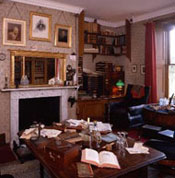 Darwin's study at Down house