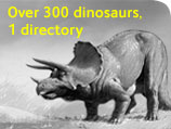 Over 300 dinosaurs, one directory