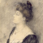 Portrait of Dorothea Bate