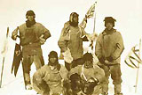 Scott's Polar Party at the South Pole. © Antarctica New Zealand Pictorial Collection