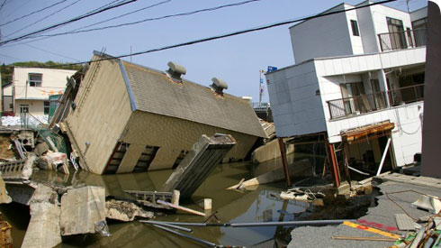 Aftermath of the 2011 Tohoku Earthquake in Japan