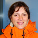 Lucy - conservator for the Antarctic Heritage Trust