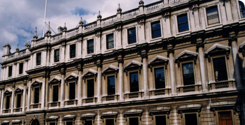 Old Burlington House, original site of the Linnean Society © David Leff