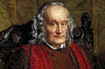 Oil painting of Richard Owen, the Natural History Museum's first superintendent
